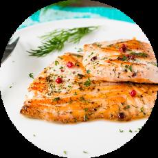 Escalopes  de saumon